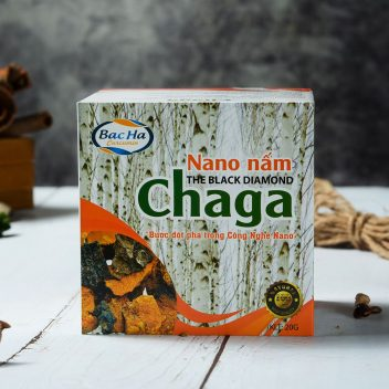 Nano nấm Chaga hộp 20 gam 4
